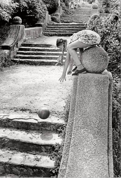 Old staircase 1978 © Gennady Bodrov