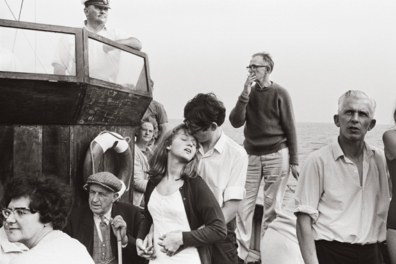 Tony Ray-Jones. Beachy Head Tripper Boat, 1967 © Tony Ray-Jones, National Science and Media Museum/SSPL