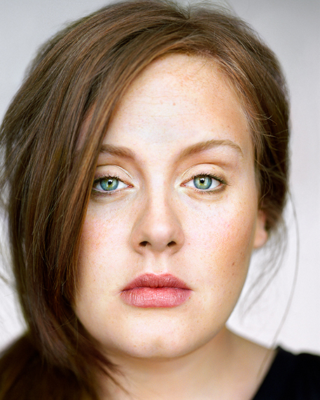 Adele, Close Up © Martin Schoeller 2009