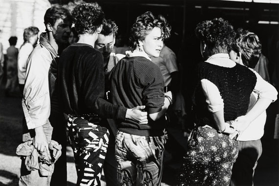 Christian Borchert: Kamenzer Forstfest, 1986© Kupferstich-Kabinett, Staatliche Kunstsammlungen Dresden