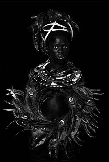 Ngwane I, Oslo, 2018, 2018Silver gelatin print100 x 67cm© Zanele Muholi. Courtesy of Stevenson, Cape Town and Johannesburg