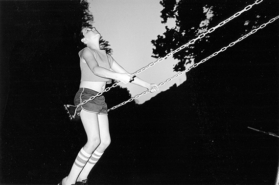 "David on swing, West Virginia 1987, from the series ""Moonshine"", 44 x 29,5 cm, Archival Pigment Print, Ed. of 5 + 2 AP's"
