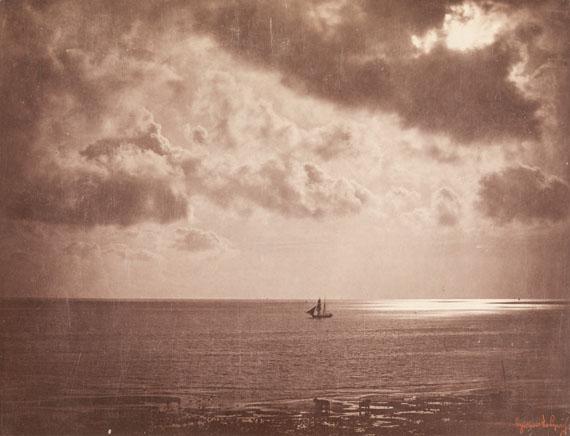 Gustave Le Gray: Brig in the Moonlight, 1856, albumen paper © Archiv der Universität der Künste, Berlin