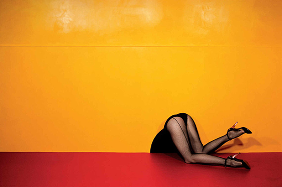 Charles Jourdan, Autumn 1979 © Guy Bourdin
