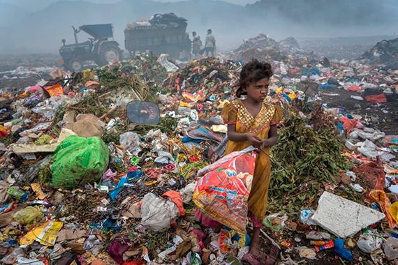 Überleben im Müll
