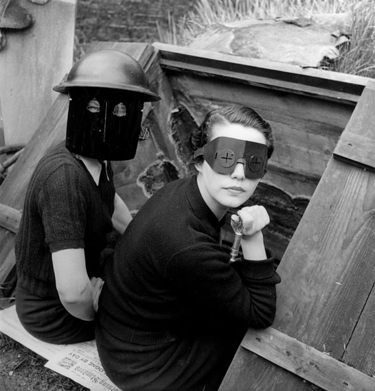 Fire Masks, London England, 1941© Lee Miller Archives, England 2020