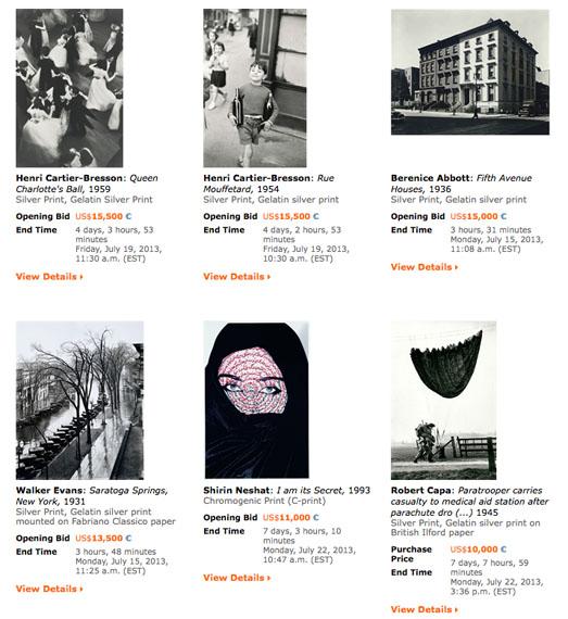 artnet Online Auctions