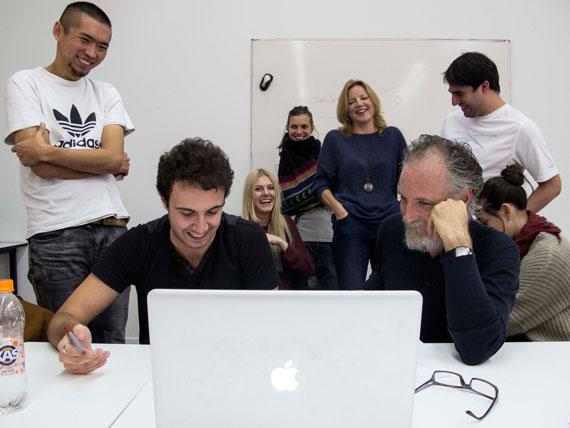 Workshop with Javier Vallhonrat
