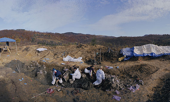 Luc Delahaye, A Mass Grave Near Snagovo, Bosnia, Series: Various works: 2008-2011, 16 November, 2006