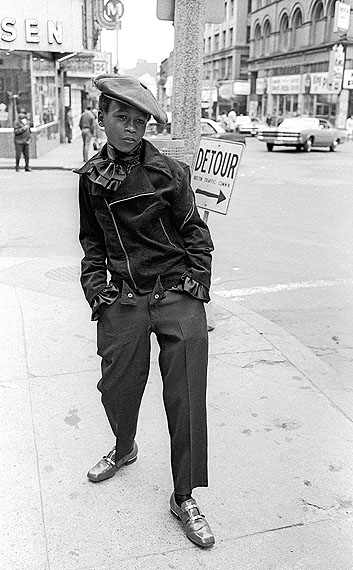 Jerry Berndt: Wanna be pimp, aus: The Combat Zone, Boston, 1968