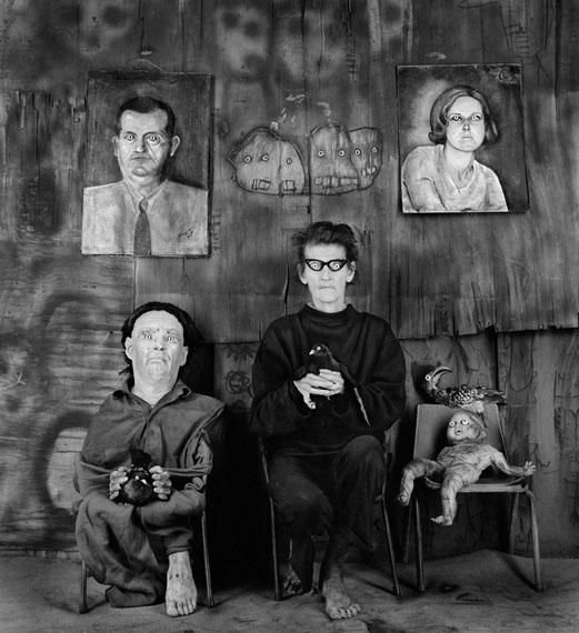 Roger BallenPlace of the eyeballs, 2012aus der Serie Asylum© Roger Ballen