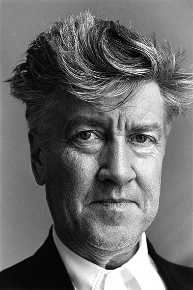 François-Marie Banier, David Lynch, Cannes 2001, © François-Marie Banier