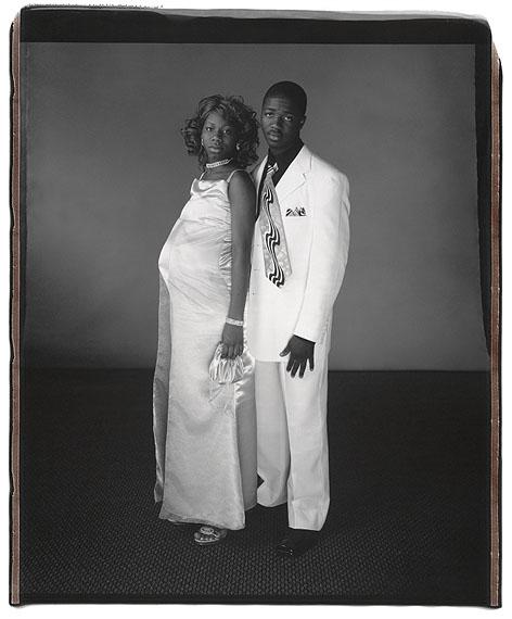 Latosha Smith and Phillip Azore, Wyncote, PA 2006, ©Mary Ellen Mark, courtesy Janet Borden, Inc.