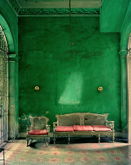 Green Interior 2002 © Michael Eastman