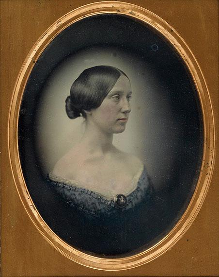 Lot 26Albert Sands Southworth & Josiah Hawes, daguerreotype portrait, circa 1850. Estimate $30,000 to $45,000.