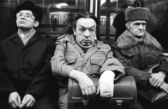 U-Bahn-Linie A, Berlin 1987 © Harald Hauswald