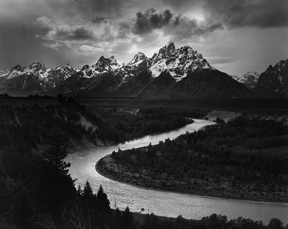 "Ansel Adams: ""Snake River,"" 1942, courtesy Ansel Adams Publishing Rights Trust"