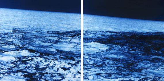 Ralf Cohen: GLOBAL, 2008, C-Print auf Aludibond, Diptychon je 120 x 120 cm