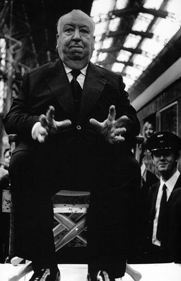 Alfred Hitchcock, Frankfurt am Main, 1972 © Barbara Klemm