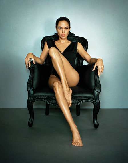 Angelina Jolie, Los Angeles, 2007 © Marc Hom