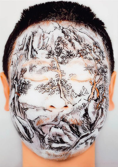 Huang Yan: Winter 2 - 1 eyes closed, 2005, C-Print, 150 x 100 cm