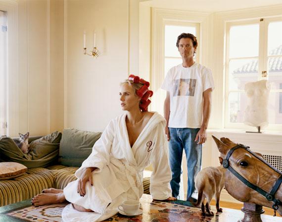 Vanessa und Bill Getty, 2007-2008, aus SF Society, 127 x 152 cm© The Estate of Larry Sultan, courtesy Galerie Thomas Zander, Cologne