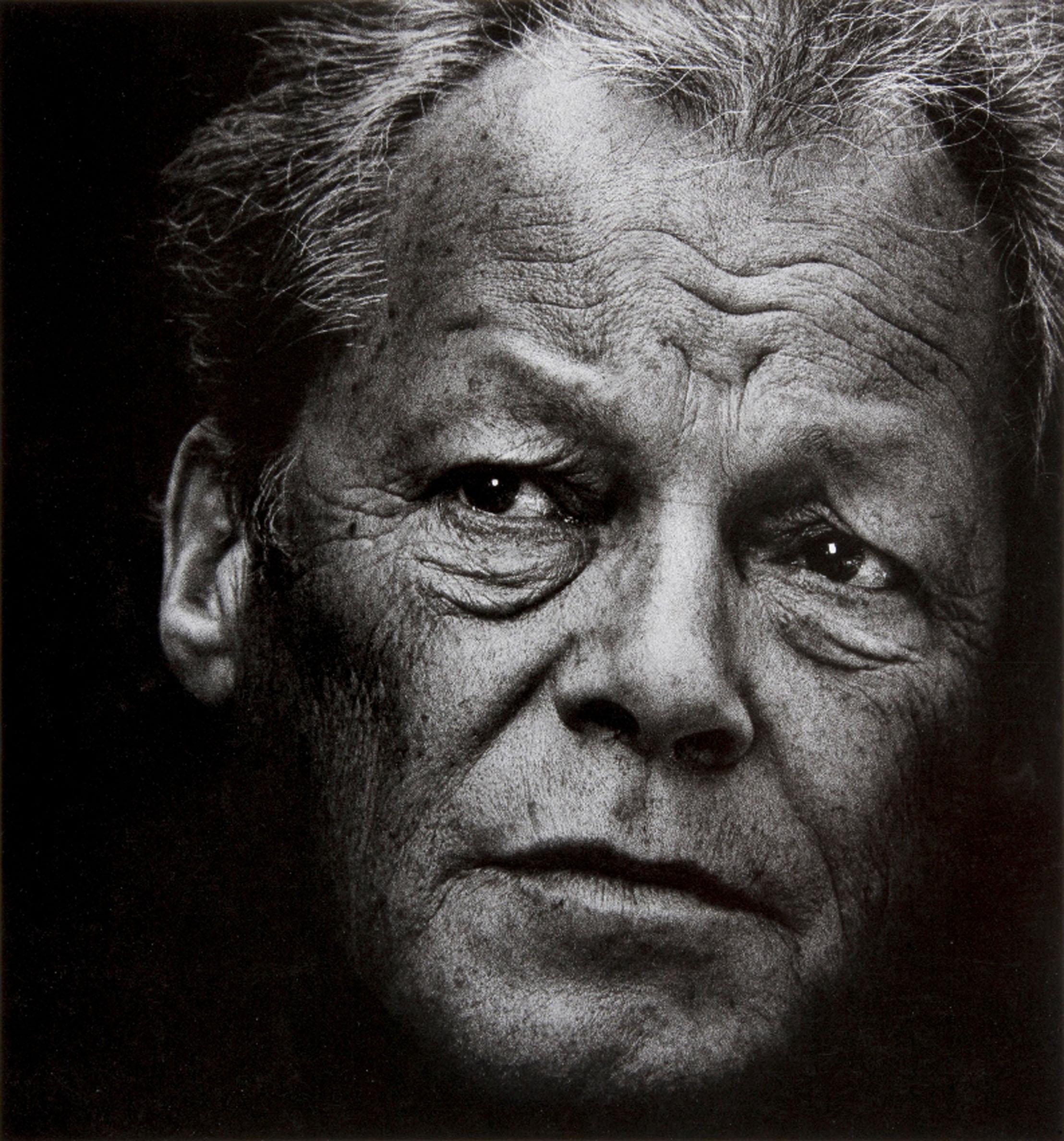 Willy Brandt, 1978 © Konrad Rufus Müller, courtesy PINTER & MILCH
