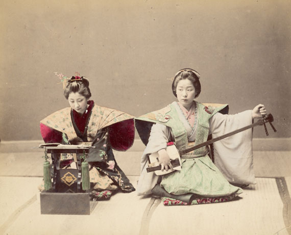 Japanese Girls in the 19th Century