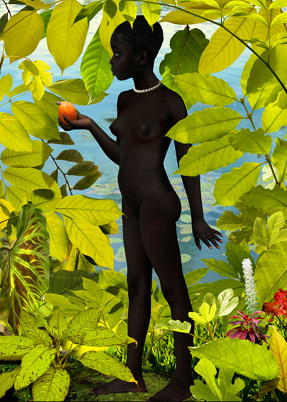 Venus #5, 2007 © Ruud van Empel, courtesy Flatland Gallery (Amsterdam, Paris)
