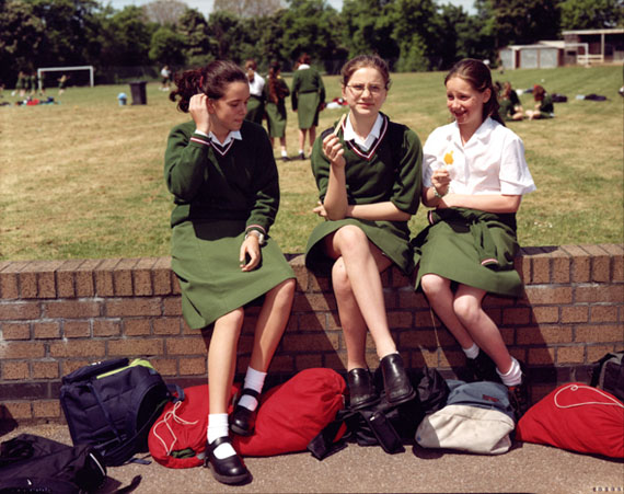 The Schoolgirls from the series Europeans, 2001 © Tina Barney