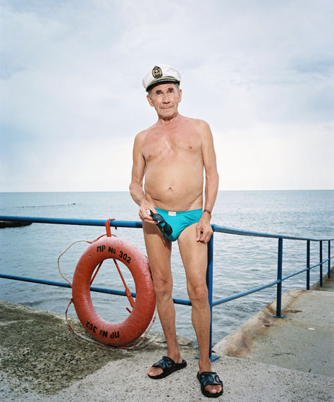Rob Hornstra - Mikhail Karabelnikov (77), Sochi, Russia, 2009 © Rob Hornstra / Flatland Gallery. From: An Atlas of War and Tourism in the Caucasus (Aperture, 2013).