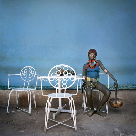 Joven Hamer, Dimeka, 2005, Ethiopia © Juan Manuel Castro Prieto, courtesy galerie VU'