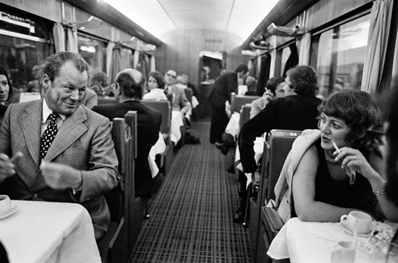 © Robert Lebeck, Im Sonderzug durch Deutschland, 1973