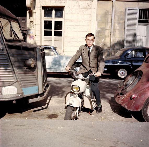Self portrait with Rolleiflex. FRANCE. Paris. Ile Saint-Louis. 1959. ©Raymond Depardon / Magnum Photos