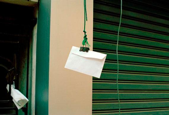Paulien Oltheten: envelope, Rangoon 2012