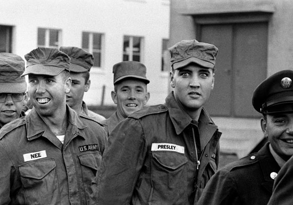 © Robert Lebeck 'Elvis Presley', 1958Courtesy Johanna Breede PHOTOKUNST, Berlin
