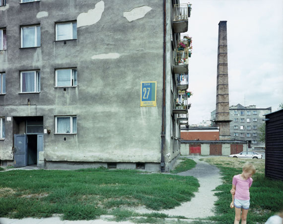 Elblag, Poland, 08.1994Chromogenic contact print from negative 8 x 10 in., 20x25 cm© Guido Guidi