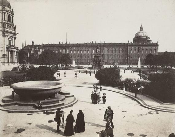 Max Missmann: Lustgarten mit Blick auf das königliche Schloss, 1907 © Stadtmuseum Berlin