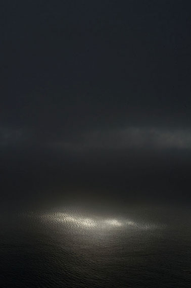 Ralf Schmerberg: NATURAL ENLIGHTMENT, Big Sur, California, USA, Ditone Print, 225 x 150 cm