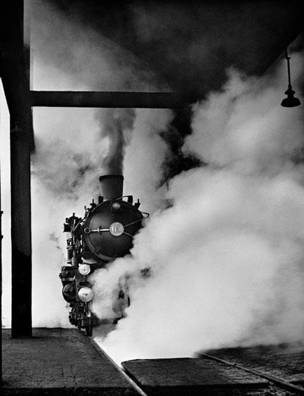 """Aus: """"Magie der Schiene"""", 1949© René Groebli, courtesy PINTER & MILCH"""