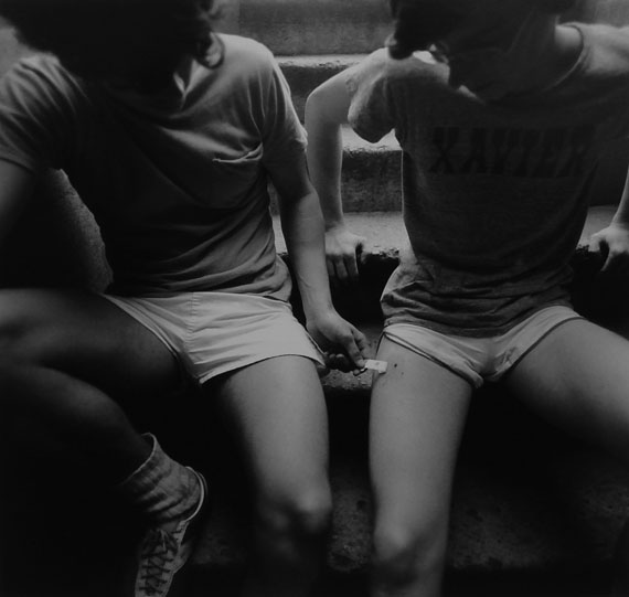 Arthur Tress, Teenage Runners, New York City, 1975