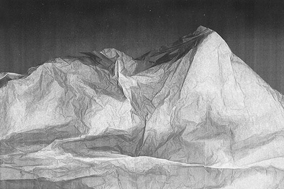 Dominique Teufen: Mountainview, 2013, Aus der Serie Sterne? Kopierter Staub, 2013, Ilford Baryt auf Dibond, 40 x 60 cm © Dominique Teufen