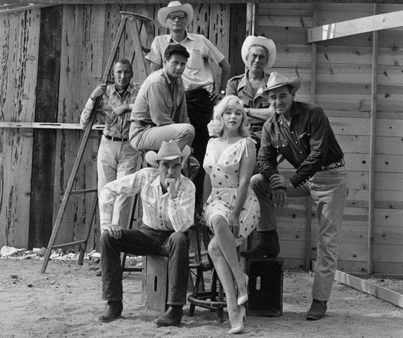 USA. Reno, Nevada. 1960. Film set of