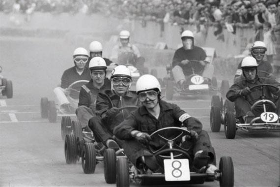 "Hans Rudolf Uthoff: ""Go-Kart Rennen"", Dortmund 1962"