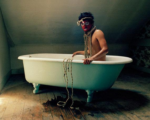 David Favrod, Autoportrait en pouple 2009, Courtesy of the artist