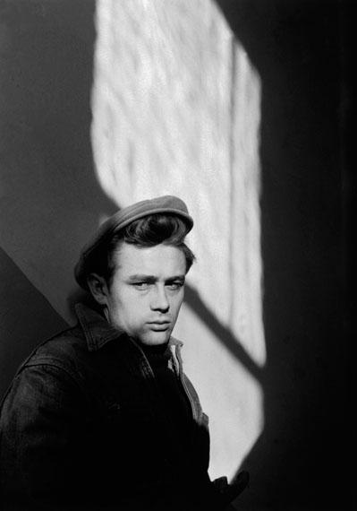 Dennis Stock: James Dean, Fairmount, 1955 © Magnum Photos