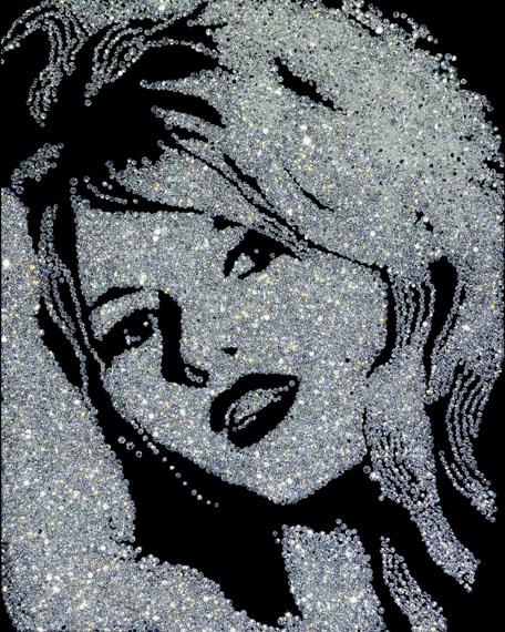 Vik Muniz, Brigitte Bardot, 2004 © Vik Muniz, Courtesy Edwynn Houk Gallery