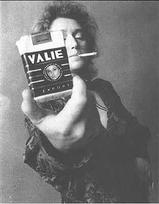 """""""SMART-VALIE EXPORT"""", 1970, Selbstportrait, s/w"""