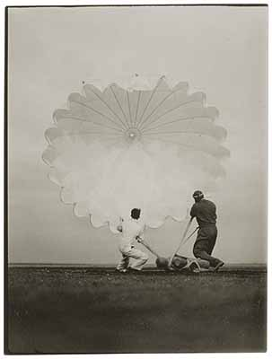 Vintage Photographs: Twenty Parachutes, November 13