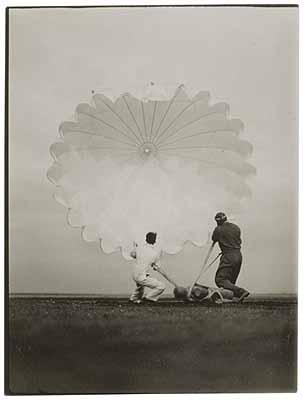 Vintage Photographs: Twenty Parachutes, November 13